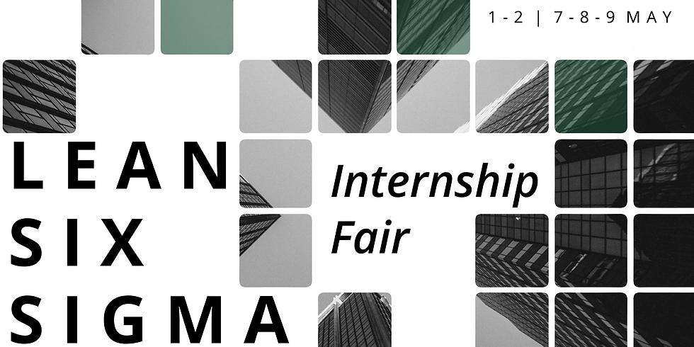 Internship Fair | Lean Six Sigma'21