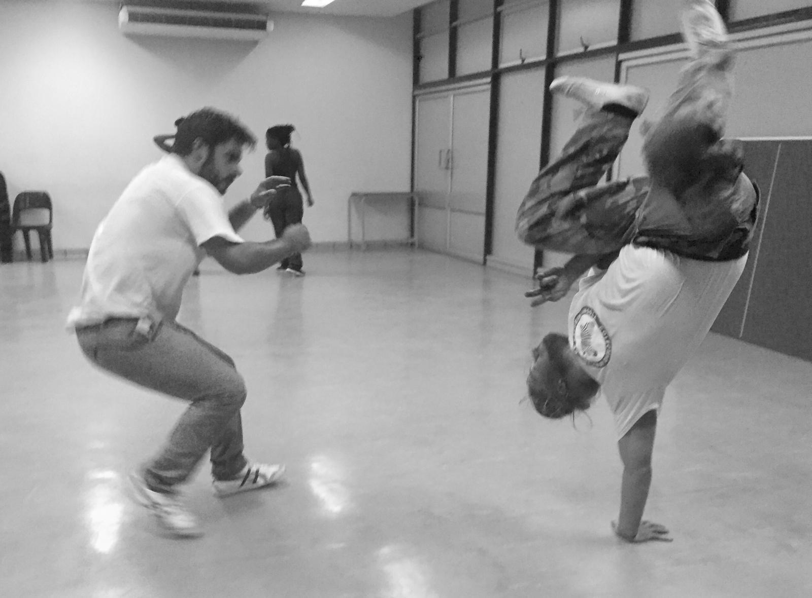 Capoeira Class with Prof. Matt