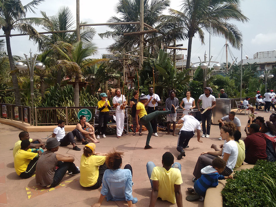 Capoeira Angola Roda in Durban. Play Capoeira. Learn Capoeira. Connect through Capoeira. Diversity