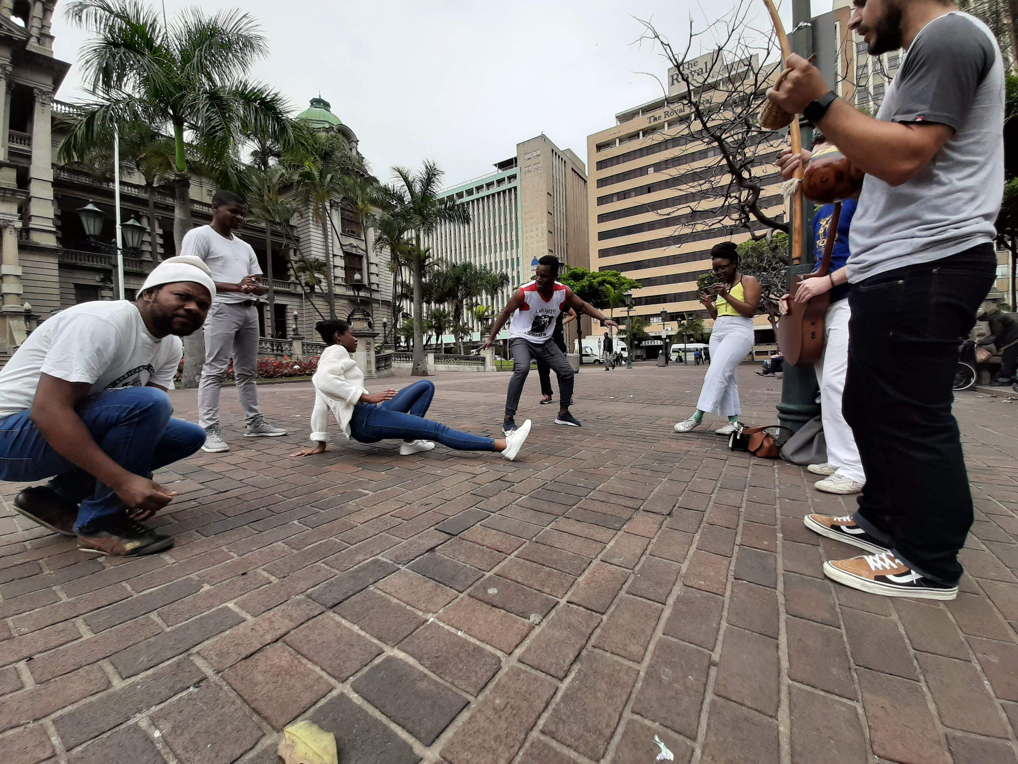 Durban city Capoeira Roda