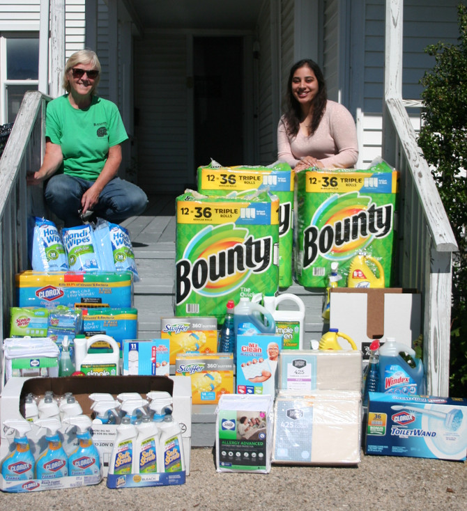 "A  ""Boatload"" of Cleaning Supplies"