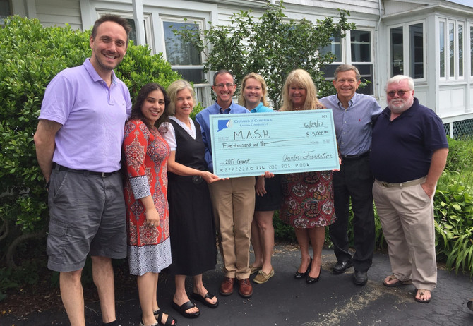 Chamber of Commerce of Eastern Connecticut Foundation a Partner in MASH's Shelter Diversion Effo