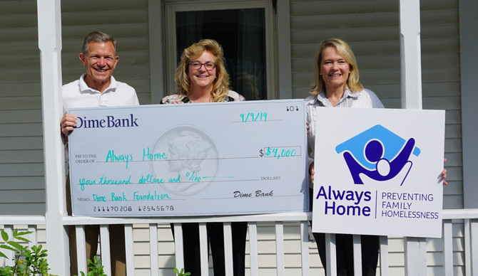 Dime Bank Foundation Goes the Distance with Generous Grant
