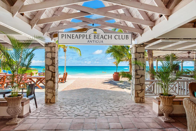 ALL-INCLUSIVE GETAWAY FOR FOUR AT ANTIGUA'S PINEAPPLE BEACH CLUB