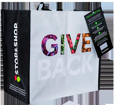 Stop & Shop Give Back reusable bag