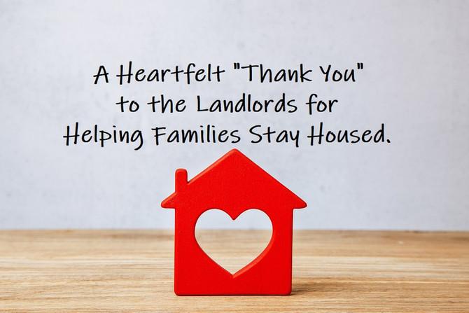 Landlords Are Preventing Family Homelessness