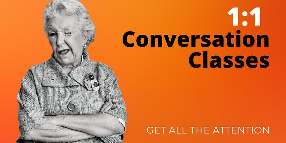 1:1 Conversation Class