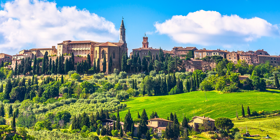Tuscany Virtual Tour - A Day in Pienza