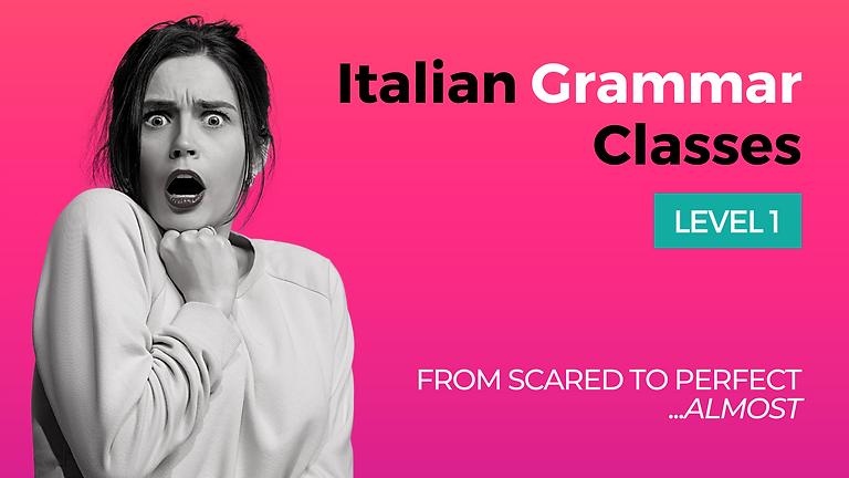 Italian Grammar Class - Level 1 - Italian Alphabet & Basic Rules of Italian Pronunciation