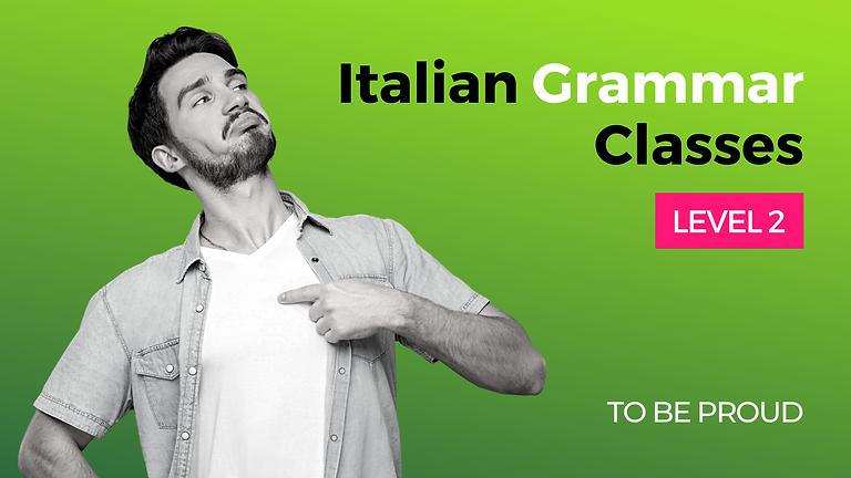 Italian Grammar Class - Level 2 - Modal Verbs