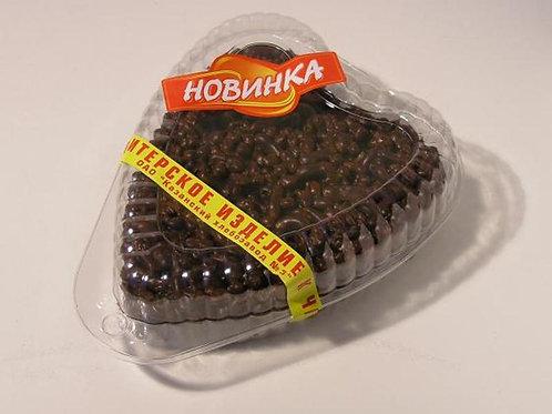 Чак-чак глазированный кондитерской глазурью (Сердечко) 350гр