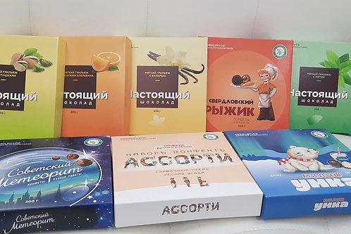 Конфеты ручной работы 1шт (коробочка)