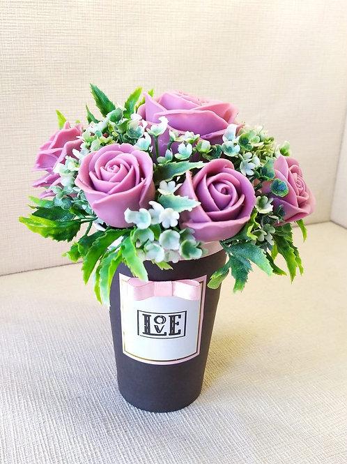 Букет Роз в стакане