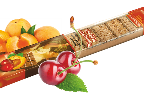"Кладезь витаминов ""Вишня"" (конфеты-мюсли)"