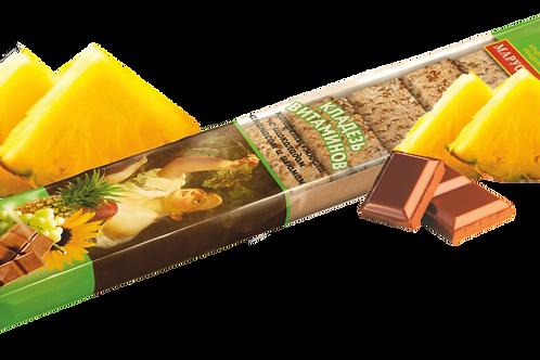 """Кладезь витаминов """"Ананас-Изюм"""" (конфеты-мюсли)"""