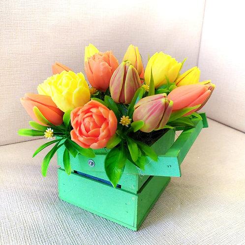 Ароматный Букет тюльпанов