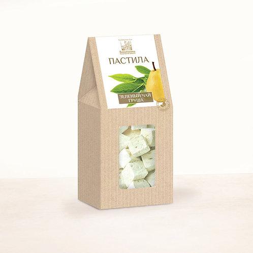 Пастила зеленый чай - груша 90г