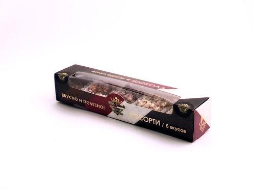 Кнекерсы в шоколаде Ассорти 35г