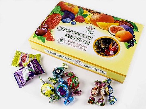 Суворовские конфеты 500г Желейные Ассорти