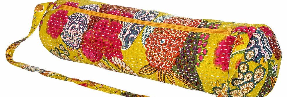 Floral Yoga Bag