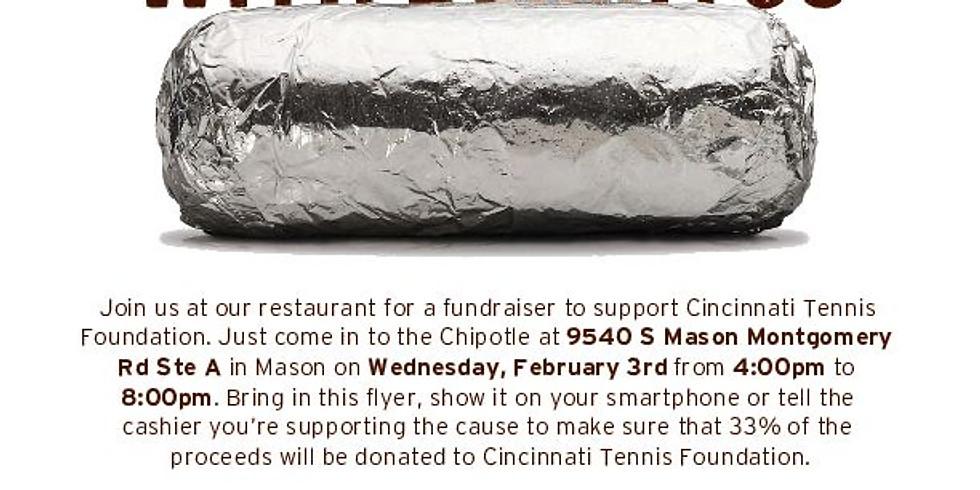 Chipotle Fundraiser for Cincinnati Tennis Foundation