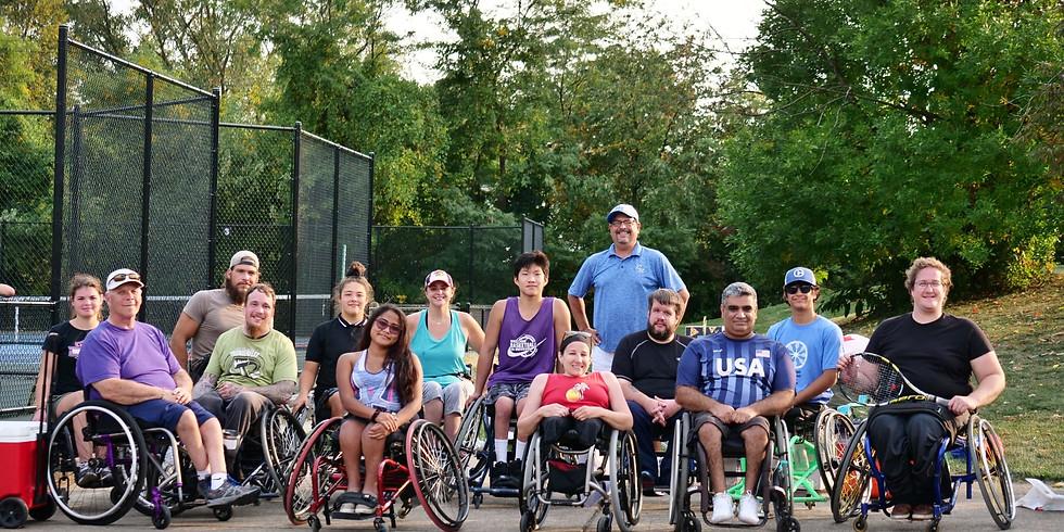 May Wheelchair Tennis Clinics