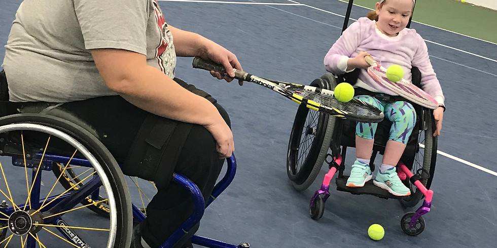 May Wheelchair Tennis - Partnered with be.well
