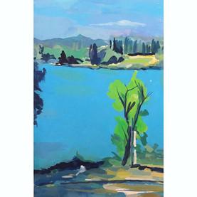 Rhone river