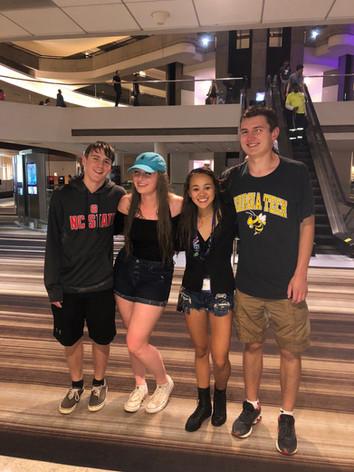 Trent, Ashley, Morgan, Maxwell after the Rain