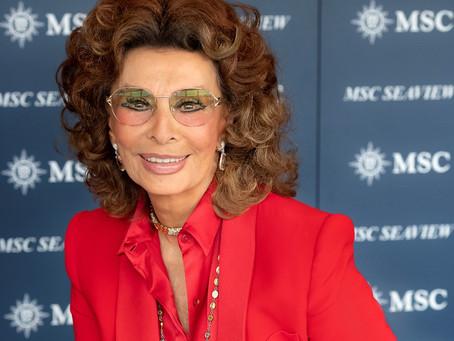 A vida é agora e não importa a idade, viva a dama do cinema italiano, a grande Sophia Loren.