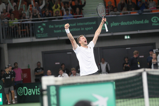 Tennis - Davis Cup