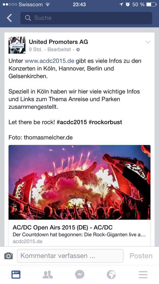 AC/DC Konzerte