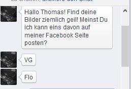 Florian Ostertag teilt Bild auf seiner Facebook Seite