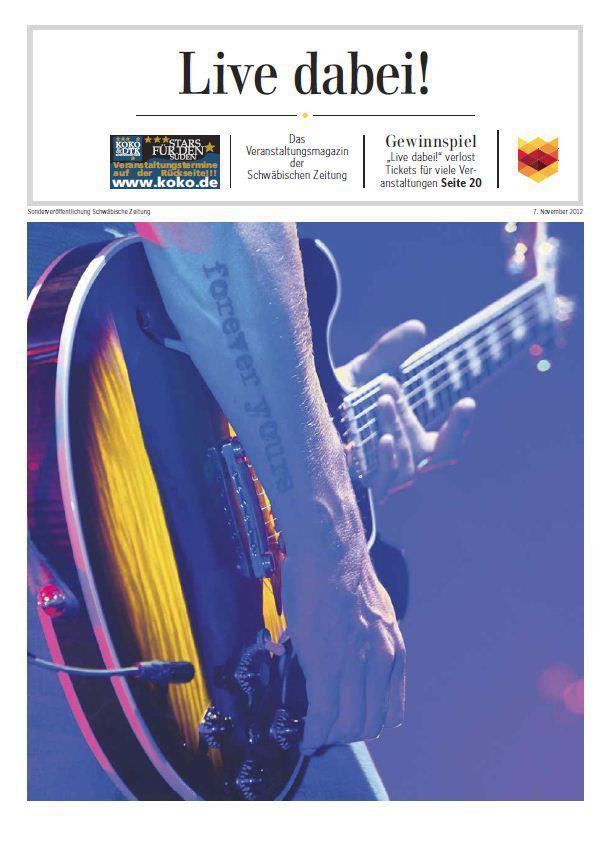 Titelbild Sonderbeilage Schwäbische Zeitung