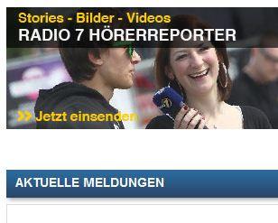 neue Radio 7 Website