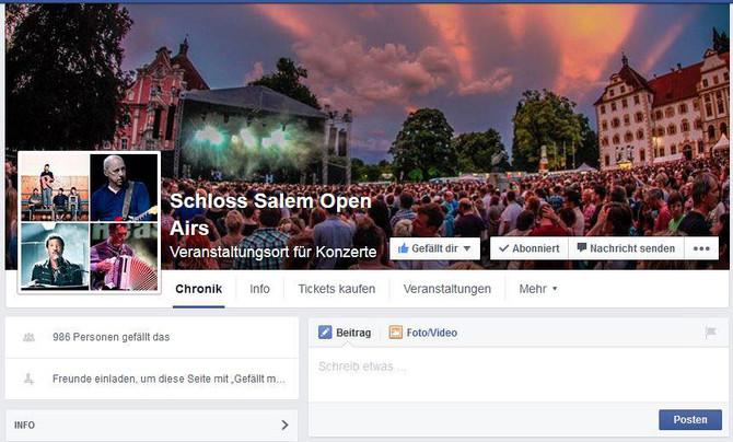 Schloss Salem Open Airs