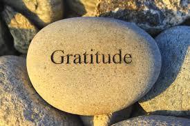 gratitude, slow down, transformation, notice