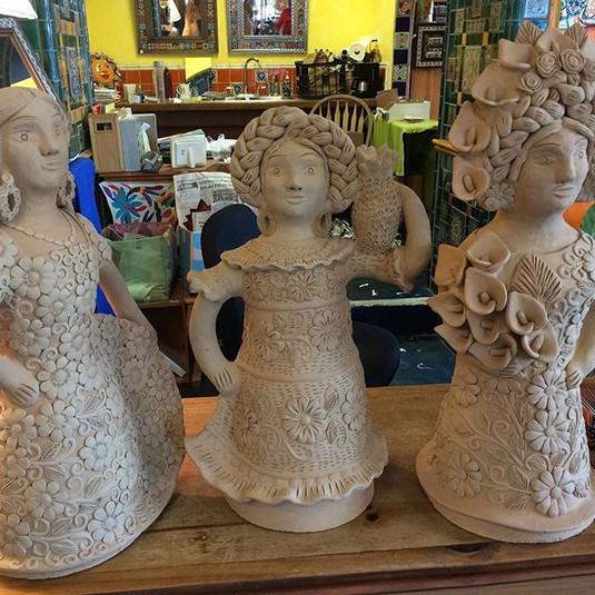 Elegant ceramic figures from Oaxaca.jpg