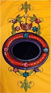 Bird's Nest Mirror
