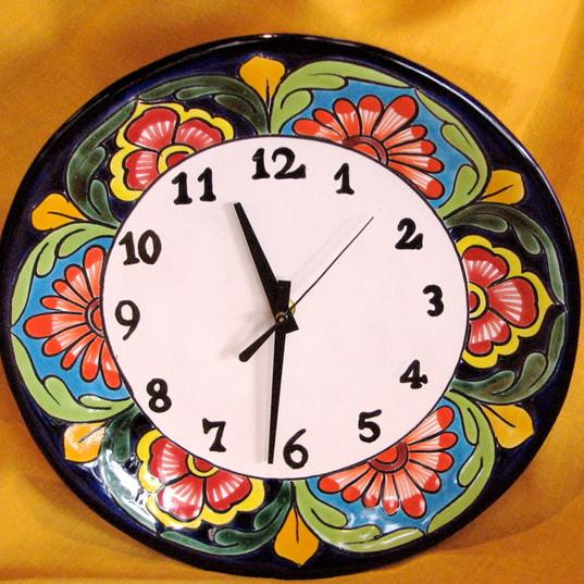 Talavera Clock