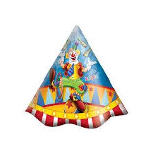 Chapéu Circo 8 unid.