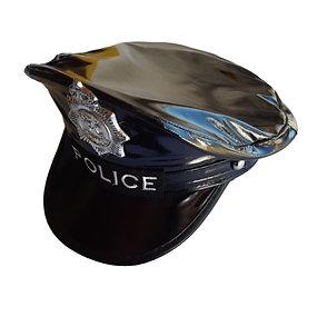 Quepe Policial Vinil