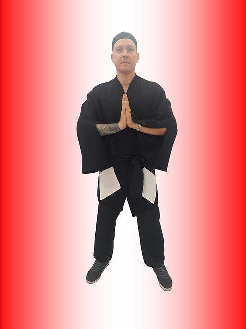 Samurai Preto Cód 2680