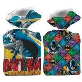 Sacola Plástica Batman 8 unid.