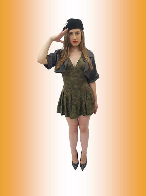 Militar Vestido Camuflado Cód 3367