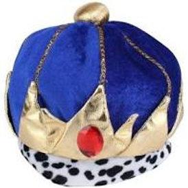 Coroa Rei em Tecido