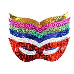 Máscara Holografica Pct 10 unid.
