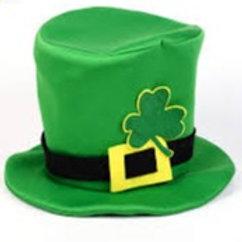 """Cartola Tecido St. Patrick""""s Day"""