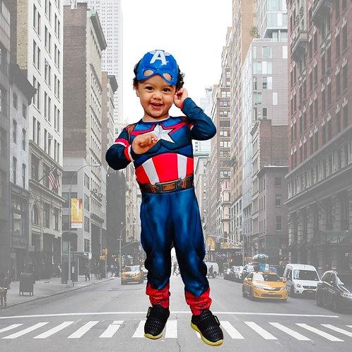 Capitão America Infantil