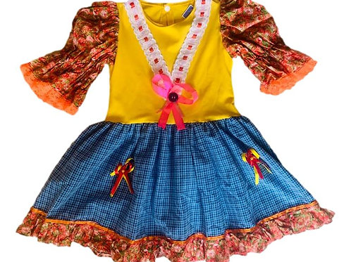 Vestido Junino Maria Caipira